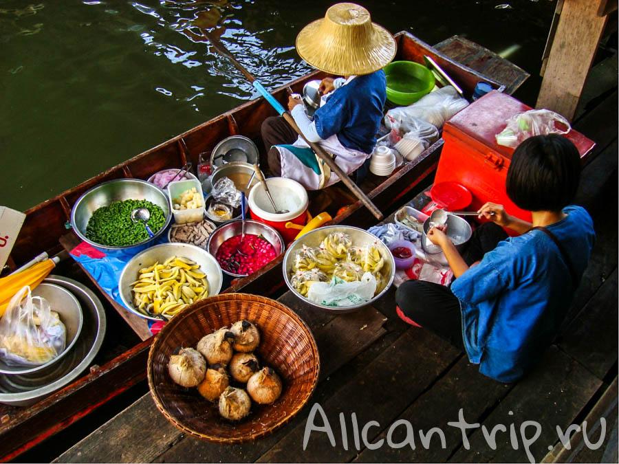 Tailing Chan - плавучий рынок