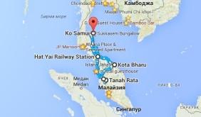 маршрут путешествия по малайзии
