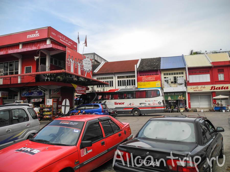Центральный автовокзал Кота-Бару