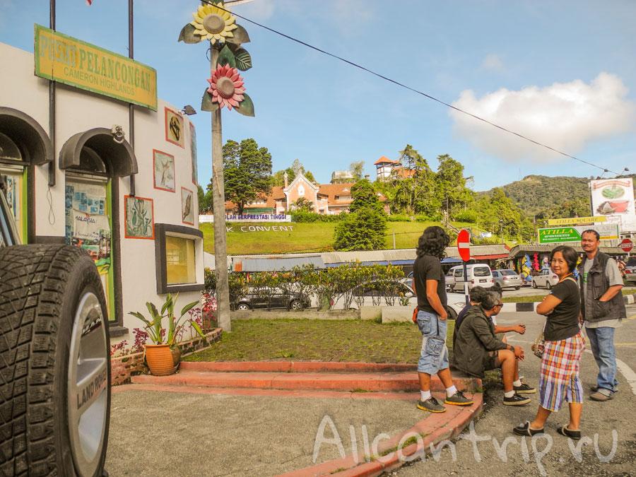 Автовокзал в Тана Рате