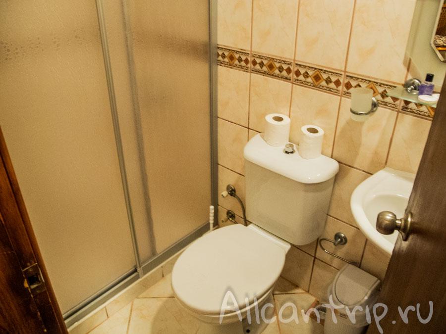 ozcan hotel ванная