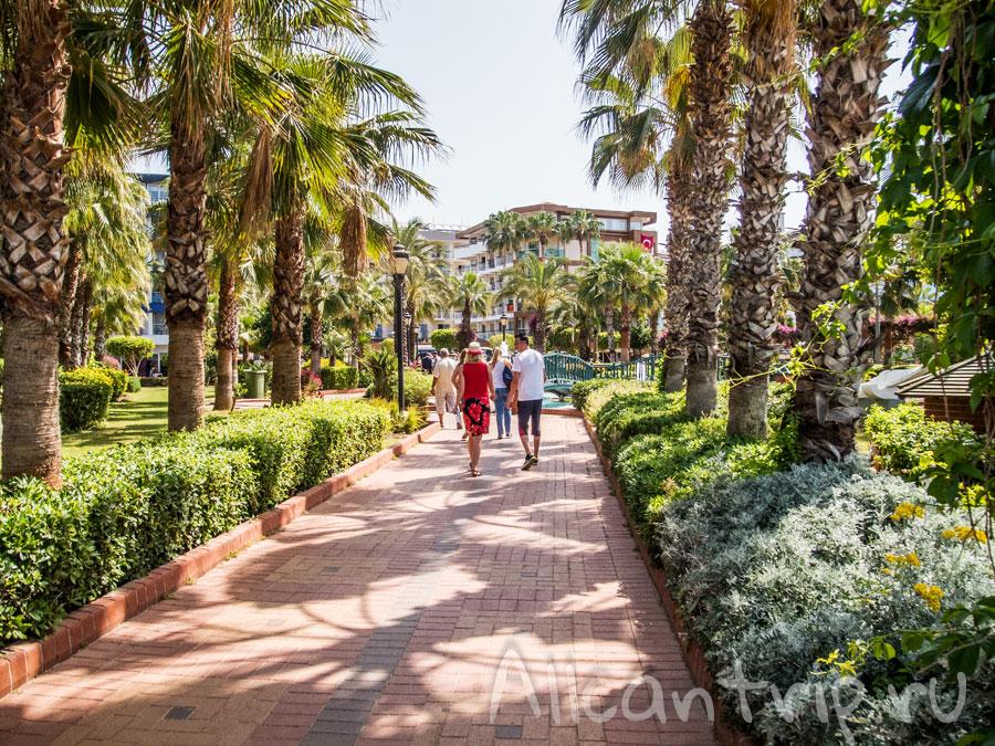 городской парк Алании