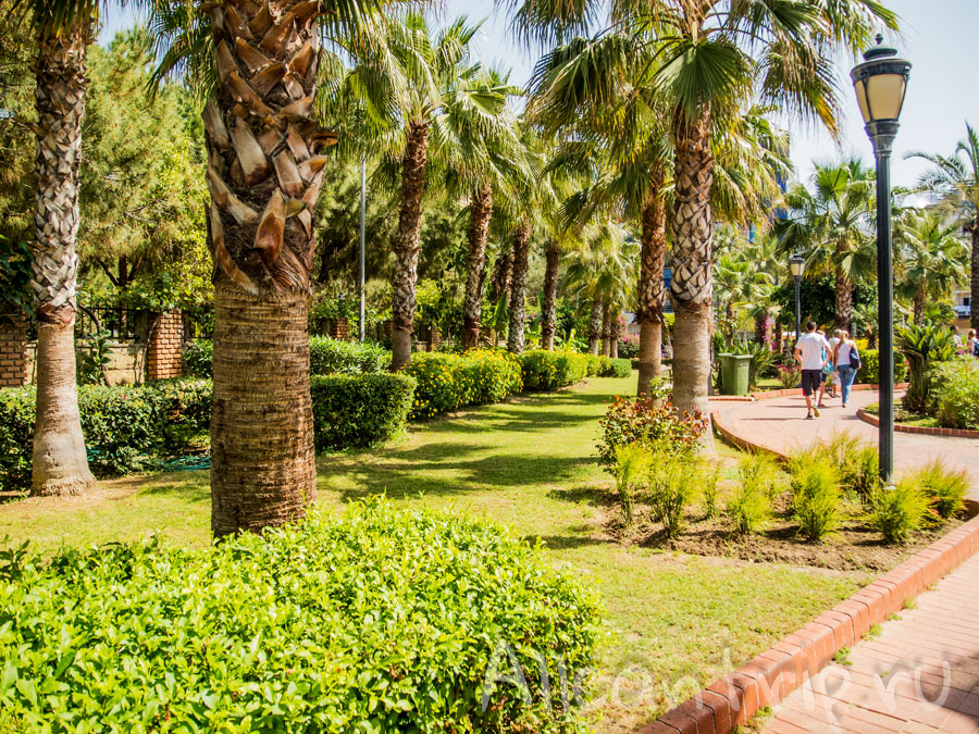 парк Ататюрка в Алании