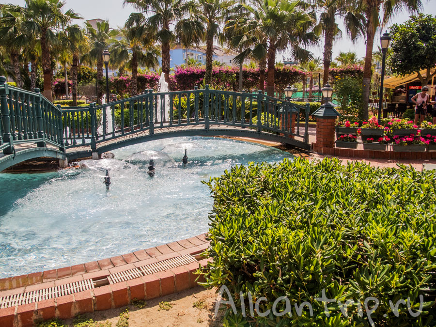 Городской парк Алании в мае