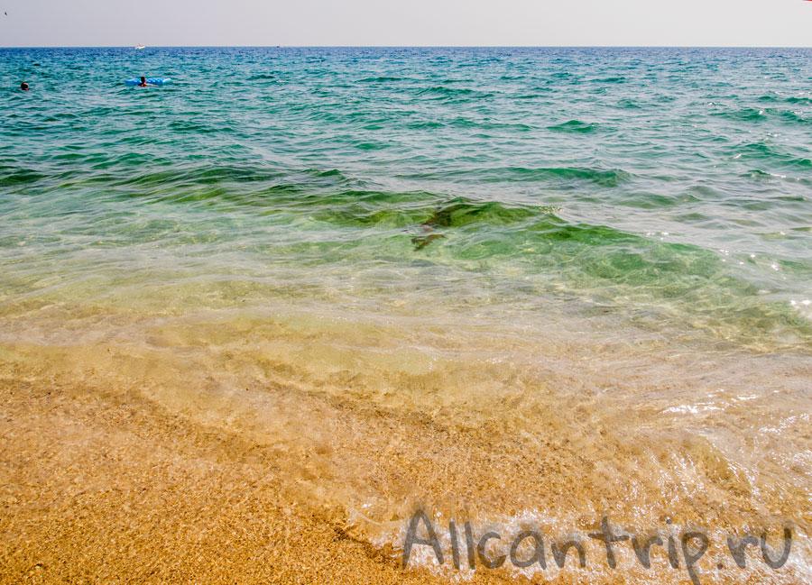 пляж клеопатры в Алании Турция