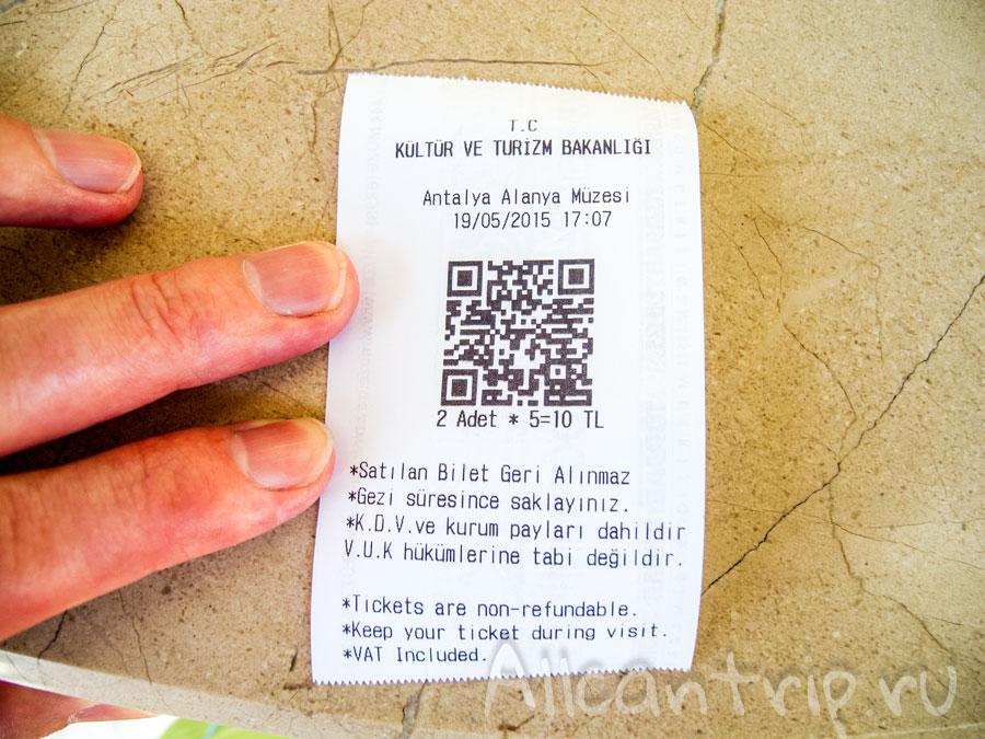 билеты в археологический музей в алании