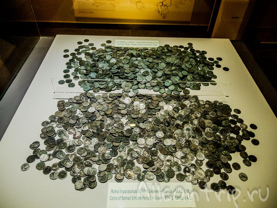 древние монеты в Алании