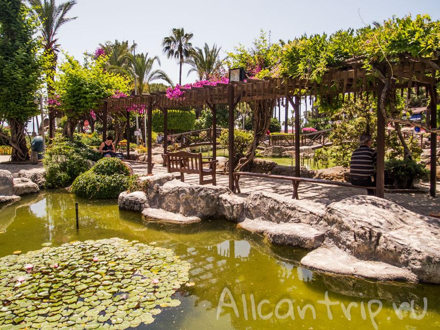парк в Алании рядом с Кызыл куле