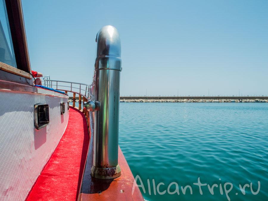 экскурсия по средиземному морю