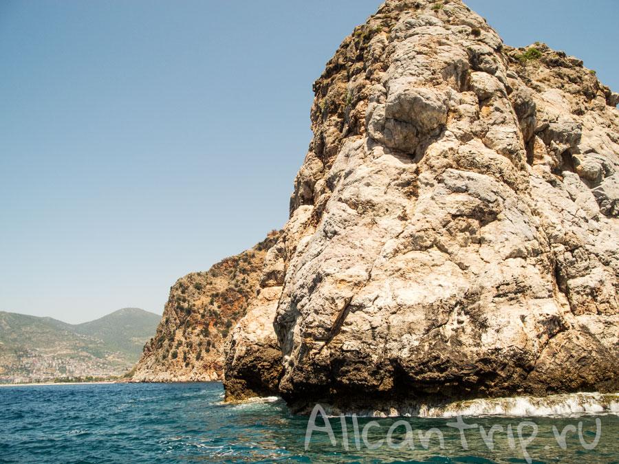 скалы в Турции
