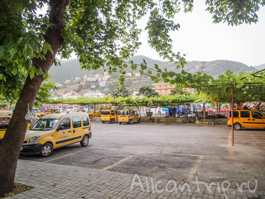 автовокзал в Алании Турция