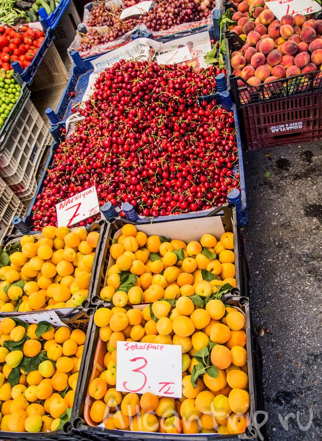 цены на фрукты в алании