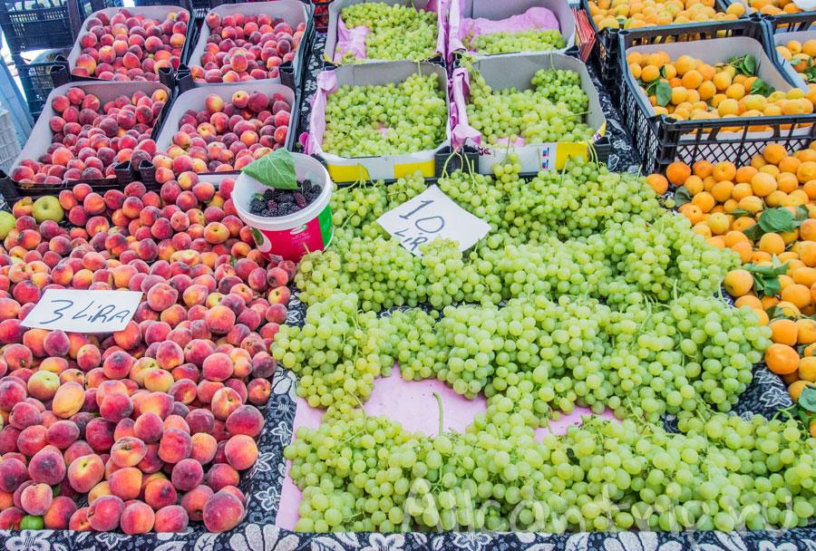 где купить фрукты в Алании