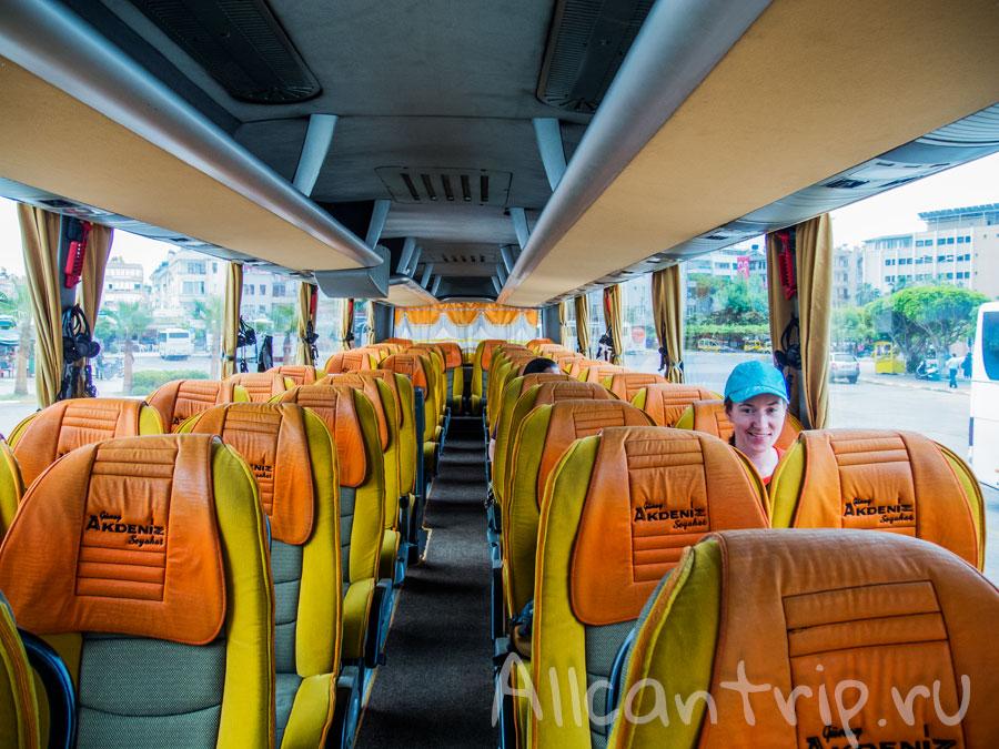 автобус из Алании в Манавгат