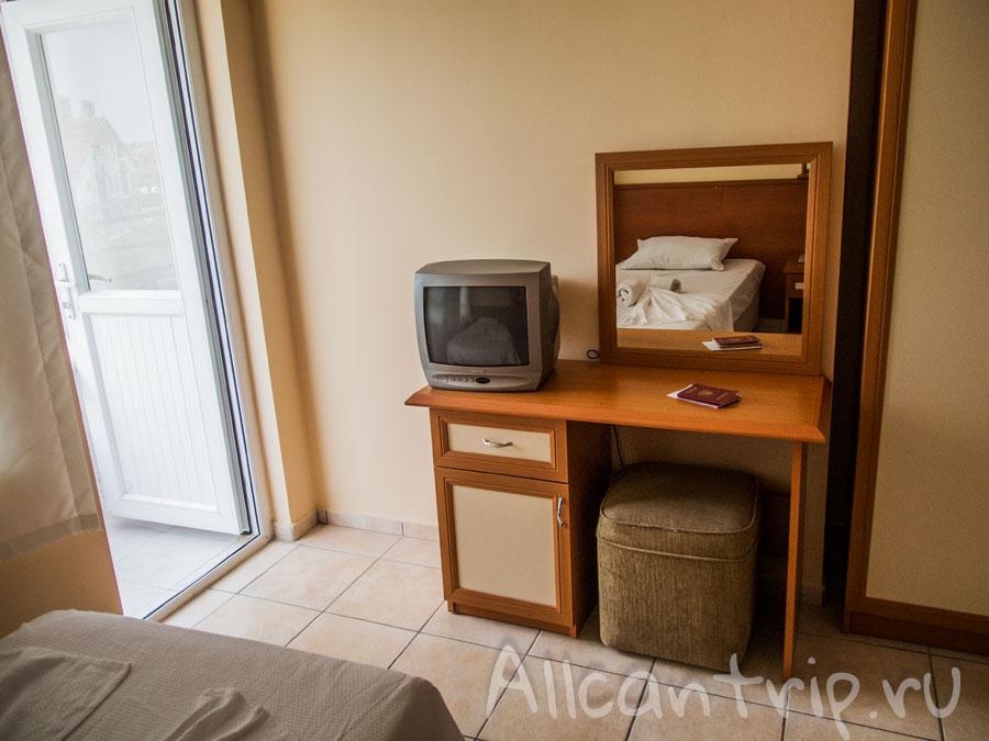 Бюджетный отель Angora в Сиде