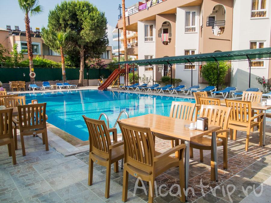 Отель в Сиде с завтраком и бассейном