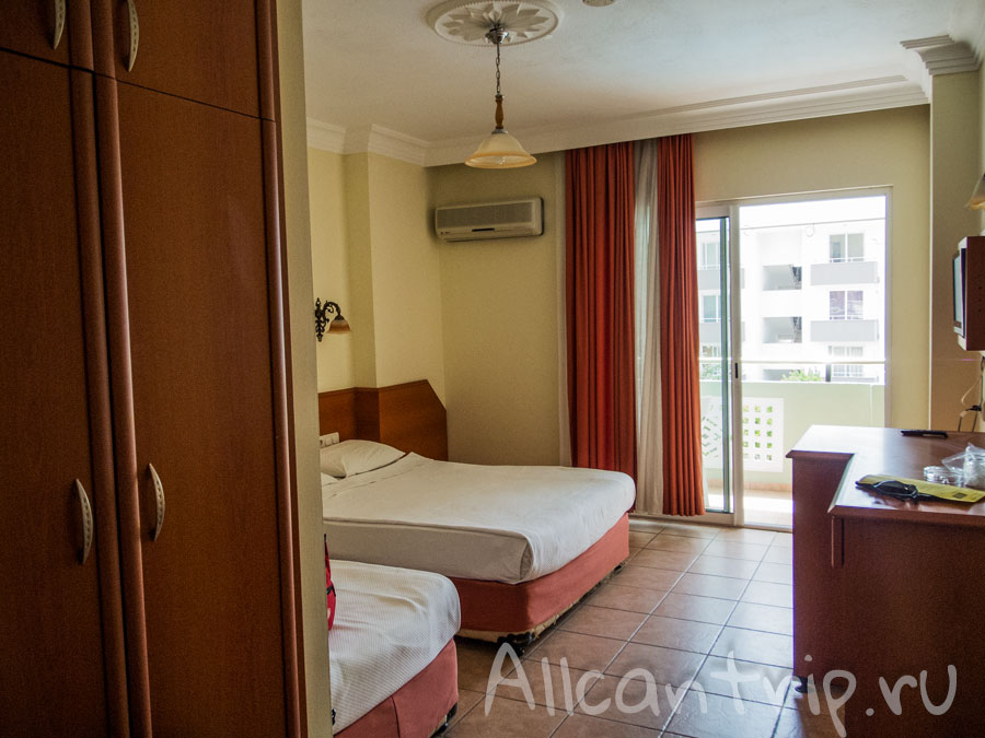 бюджетный отель Gasipasa в Сиде