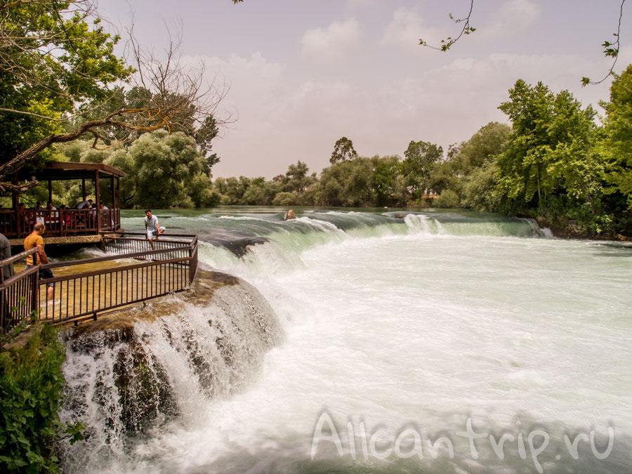 пороги реки манавгат в турции