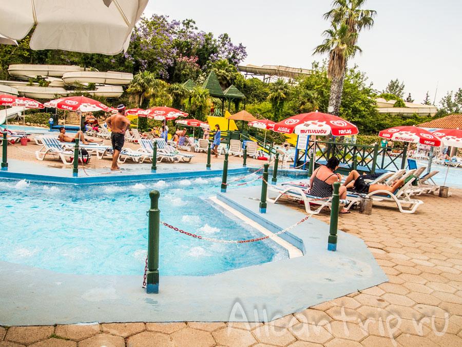 аквапарк Аквалэнд в Анталии Турция