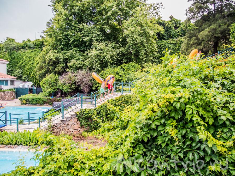 Аквапарк в Коньяалты Анталия