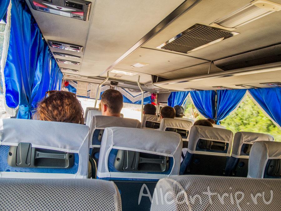 как добраться из Анталии в Кемер