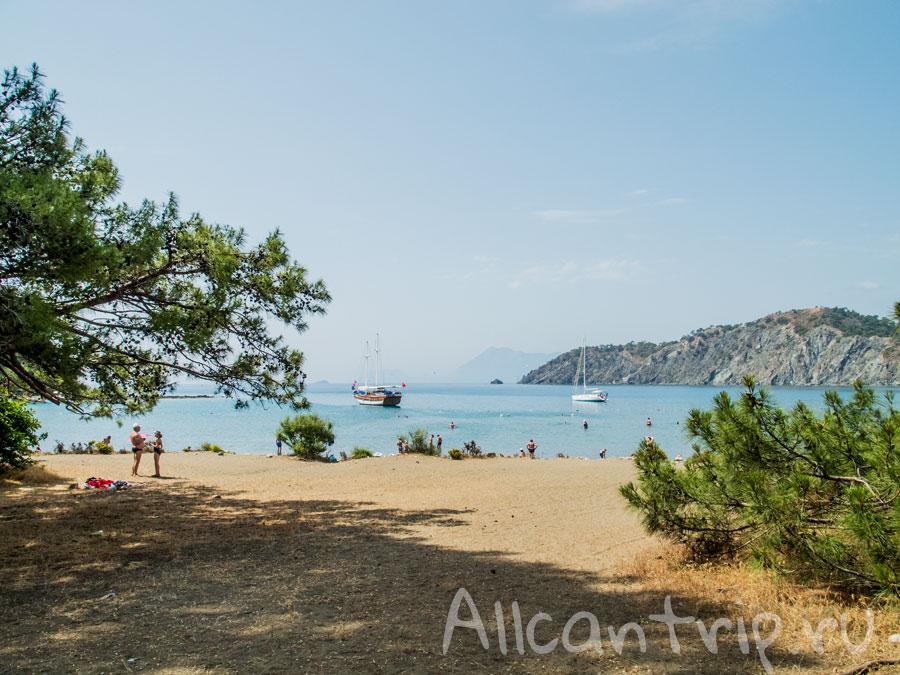 пляж около фазелиса