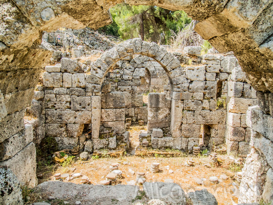 развалины фазелиса турция