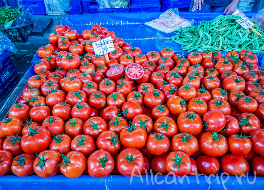 цены на рынке в кемере