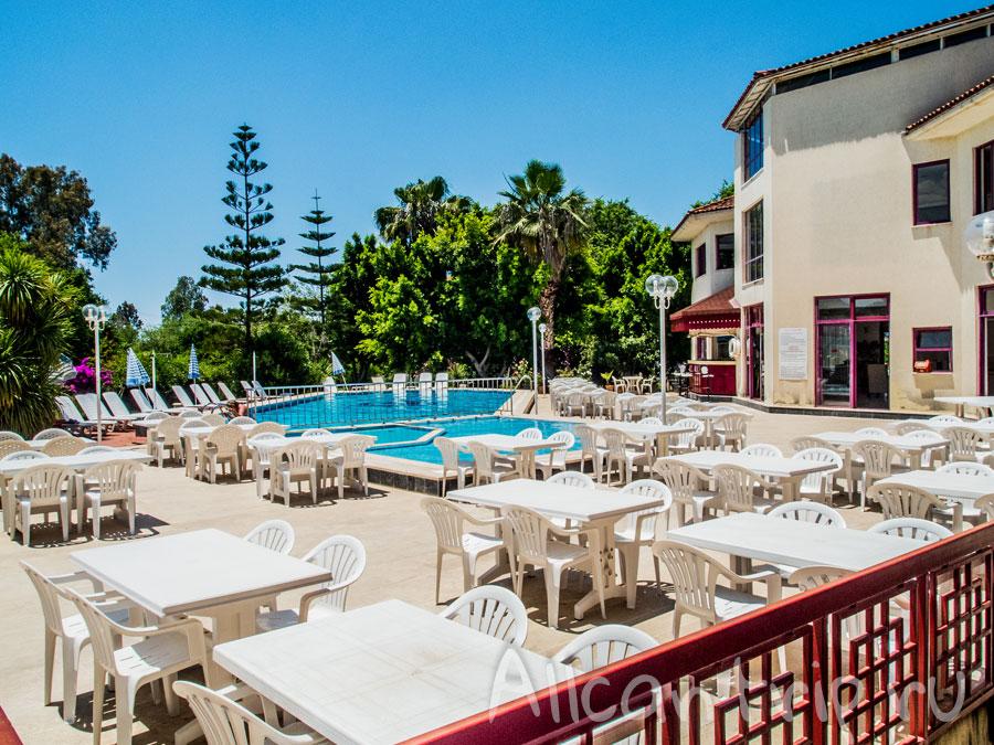 отель в фетхие с бассейном