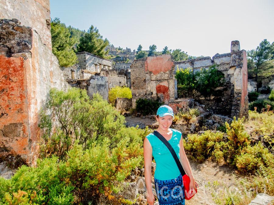 древний покинутый город фетхие