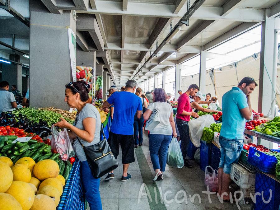 продуктовый рынок в мармарисе