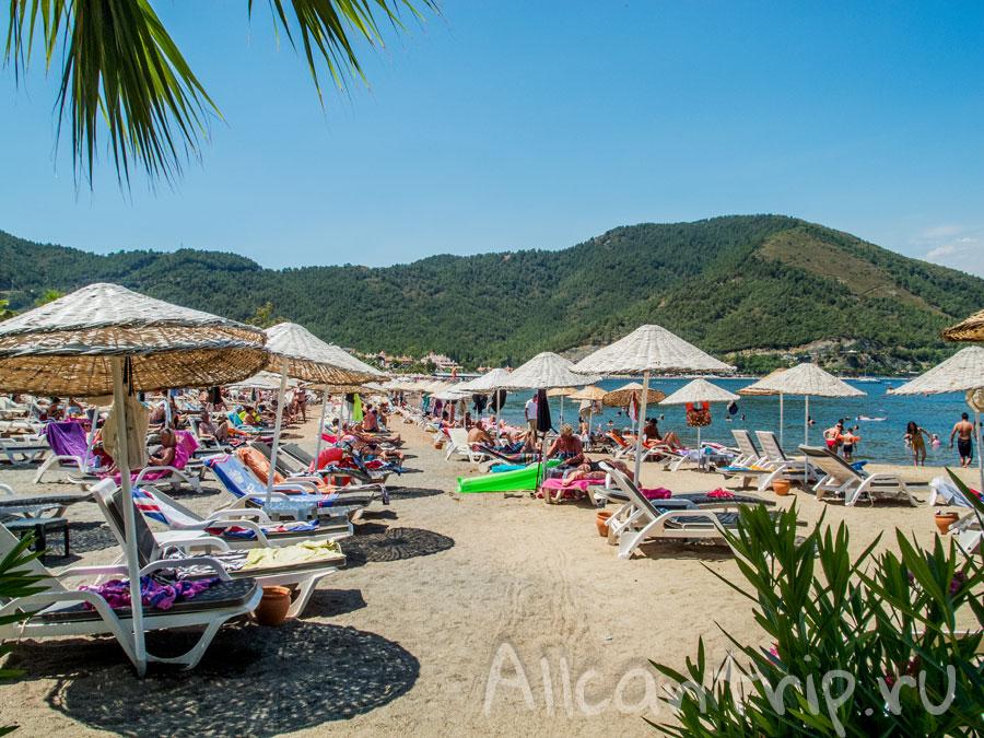 пляж ичмелер фото