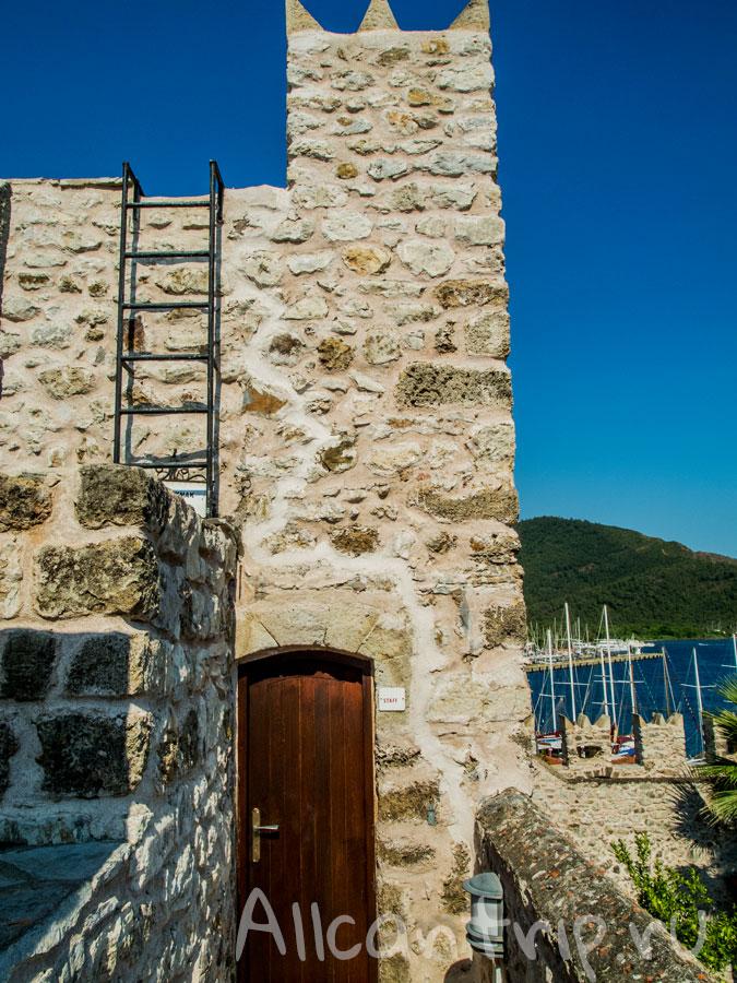 замок крепость Мармарис
