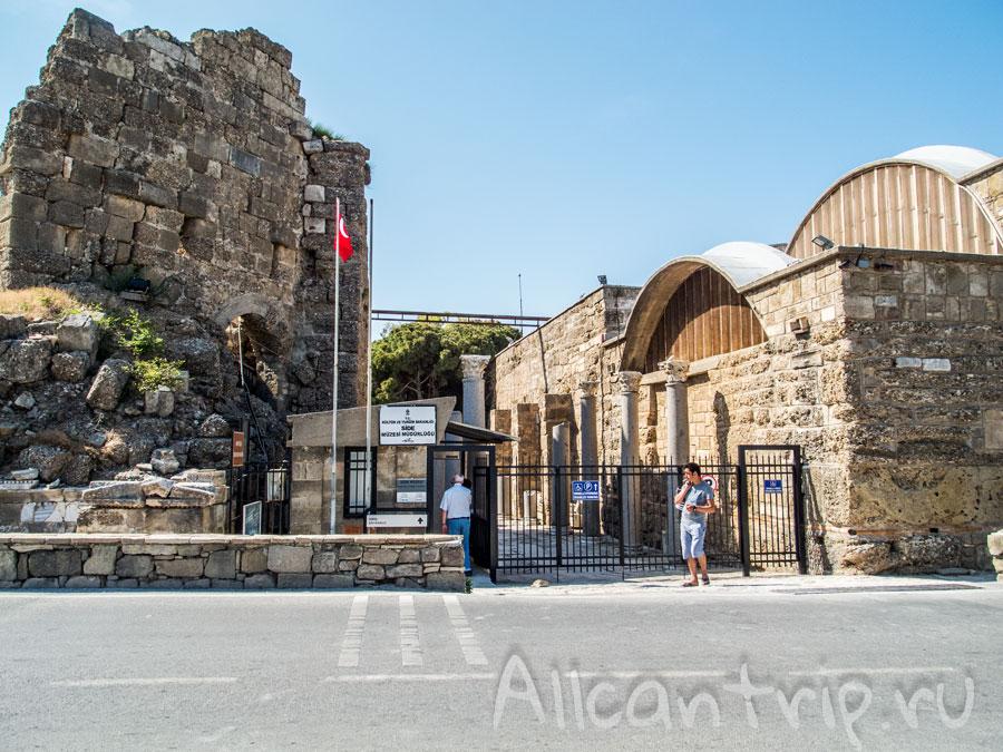 музей античности в Сиде