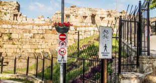на улицах античного Сиде Турция