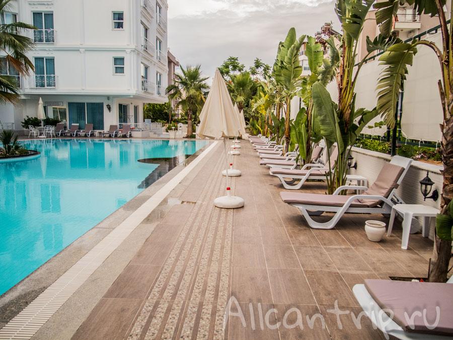 Апартаменты в Анталии с бассейном