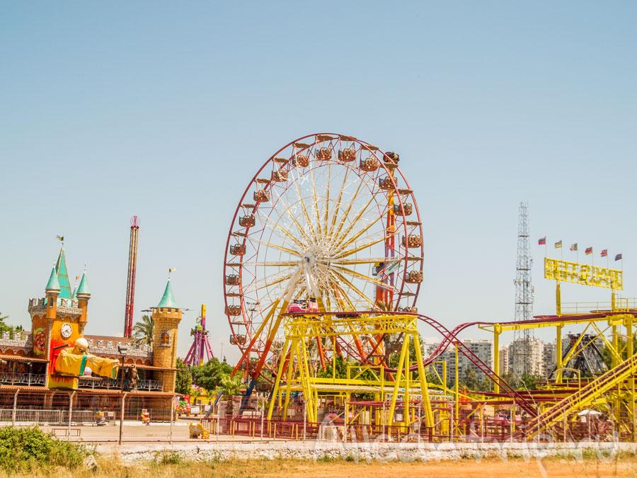 парк развлечений в Анталии