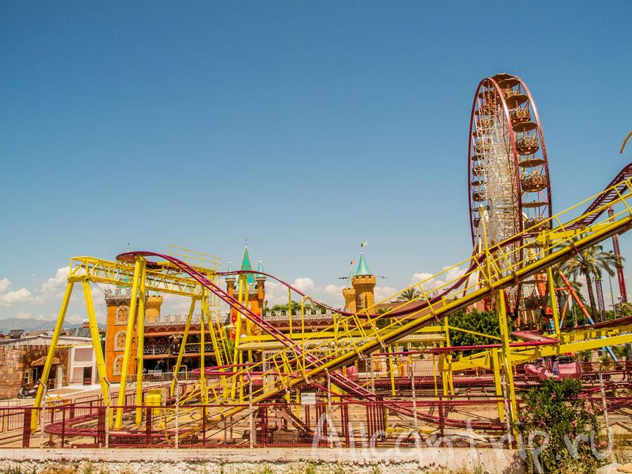 парк развлечений в Коньяалты в Анталии