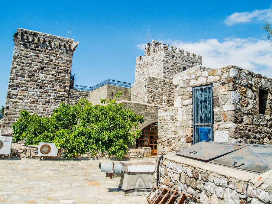 крепость музей в бодруме