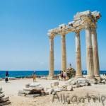 Самый известный памятник в Сиде – храмы Аполлона и Афины