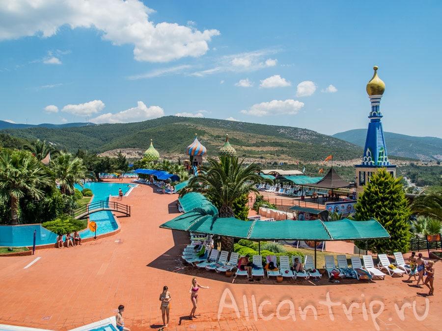 крупнейший аквапарк Турции