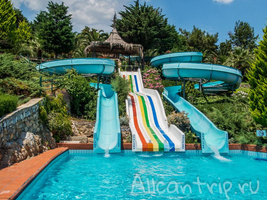 аквапарк Adaland в Турции
