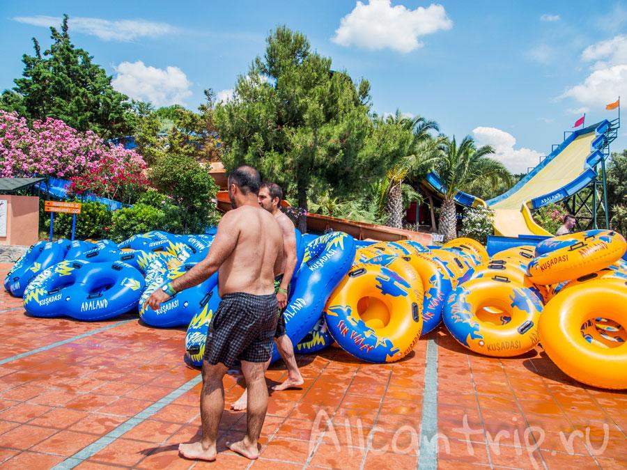 лучший аквапарк Турции