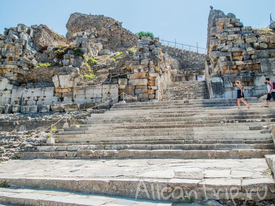 на территории древнего Эфеса