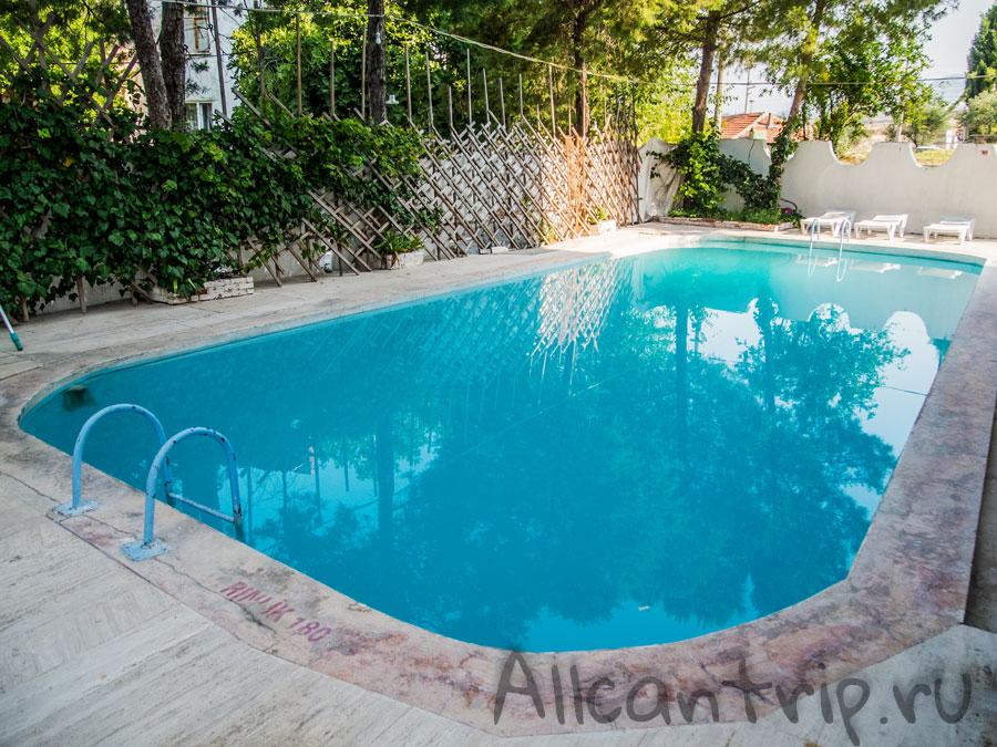 бассейн в отеле Памуккале