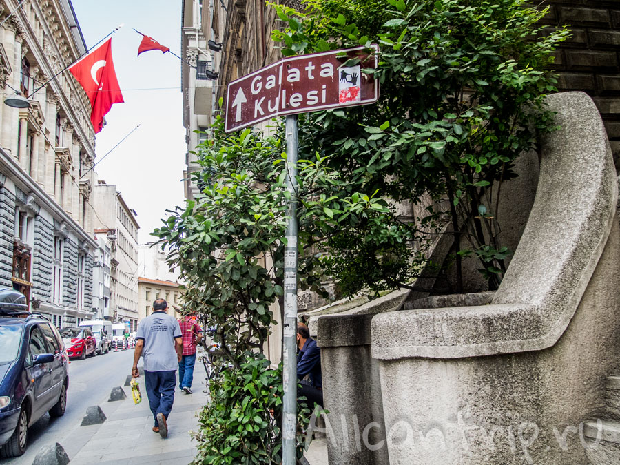 галатская башня в Стамбуле