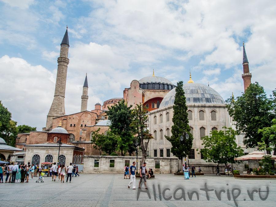 Айя София в Стамбуле