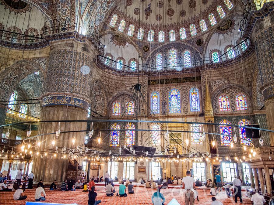 мечеть Султанахмет в Стамбуле