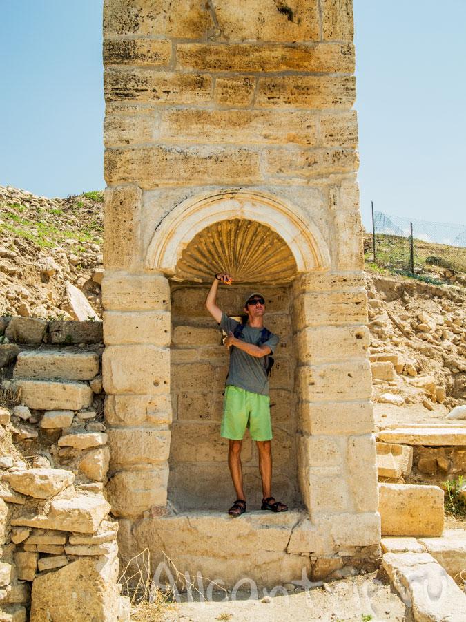 древний душ