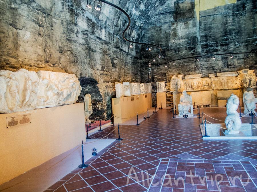 в музее иераполиса